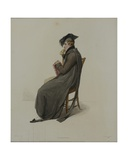 Commoner, Engraved by J. Agar, Published in R. Ackermann's 'History of Oxford', 1813 Giclee Print by Thomas Uwins