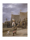 Soldier, 1640 Giclee Print by David The Elder Teniers