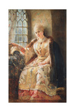 Boyar's Wife at the Window, 1885 Giclee Print by Konstantin Egorovich Makovsky