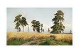The Field of Wheat, 1878 Reproduction procédé giclée par Ivan Ivanovitch Shishkin