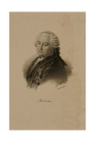 Portrait of Claude Adrien Helvetius (1715-71) Giclee Print by Francois Seraphin Delpech