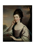 Portrait of a Lady, Thought to Be Mrs Elizabeth Hartley (1751-1824) Giclee Print by Mason Chamberlain