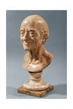 Bust of Voltaire (1694-1778) Giclee Print by Francois Marie Rosset