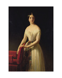 Eugenie Saint-Amand, 1841 Giclee Print by Claude-Marie Dubufe