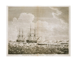 A View of the 'Racehorse' and 'Carcass', August 7th, 1773, from 'A Voyage Towards the North Pole… Giclee Print by John the Younger Cleveley