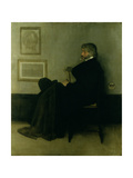 Arrangement in Grey and Black, No.2: Portrait of Thomas Carlyle (1795-1881) 1872-73 Giclee Print by James Abbott McNeill Whistler