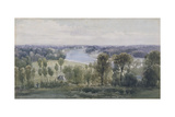 Richmond Hill, 1830 Giclee Print by Anthony Vandyke Copley Fielding