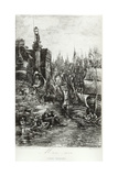 My Dream, 1883 Giclee Print by Rodolphe Bresdin
