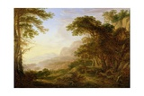 A Rhenish Landscape, 1643 Giclee Print by Herman the Younger Saftleven