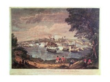 Macdonough's Victory on Lake Champlain and Defeat of the British Army at Plattsburg by General… Giclee Print by Hugh Reinagle