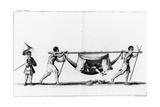 A 'serpentin' in San Salvador, from 'Relation Du Voyage De La Mer Du Sud Aux Cotes Du Chily Et Du… Giclee Print by Gerard Jean Baptiste Scotin