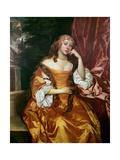 Margaret Brooke, Lady Denham (1646-67) Giclee Print by Sir Peter Lely