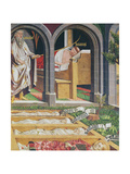The Apparition of Gamaliel to the Priest, Lucien, from the Altarpiece of St. Stephen, C.1470 Giclee Print by Michael Pacher