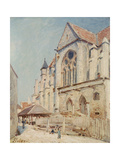 The Church at Moret Giclee Print by Alfred Sisley