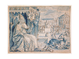 Pope Paul V (1552-1621) Giclee Print by Crispin I De Passe