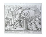 Death on the Tribune, from 'Another Dance of Death' Published by Georg Wigand in Leipzig, 1849 Giclee Print by Alfred Rethel