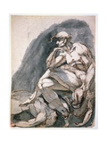 Man with Two Dead Women, C.1772 Giclee Print by Henry Fuseli