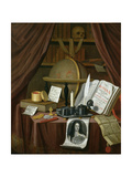 Still Life with Documents Giclee Print by John Turing