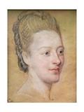 Portrait of Isabelle De Charriere (1740-1805) Belle De Zuylen, 1766 Giclee Print by Maurice Quentin de La Tour