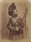 Piper David Muir, 42nd Highlanders Photographic Print by Joseph Cundall and Robert Howlett