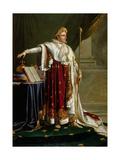 Portrait of Napoleon Bonaparte (1769-1821) Giclée-tryk af Anne Louis Girodet de Roucy-Trioson