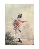 Light Infantryman, Painting for the Soiron Engraving Published by Thomas Macklin, 20th July 1791 Giclee Print by Henry William Bunbury