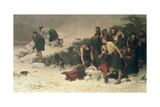 Massacre of Glencoe, 1883-86 Giclee Print by James Hamilton