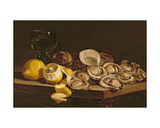 Study of Oysters, 1884 Giclee Print by William Hughes