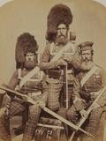 Noble, Dawson and Harper, 72nd (Duke of Albany's Own Highlanders) Regiment of Foot Papier Photo par  Joseph Cundall and Robert Howlett