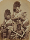 Noble, Dawson and Harper, 72nd (Duke of Albany's Own Highlanders) Regiment of Foot Photographic Print by  Joseph Cundall and Robert Howlett