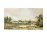 Cambridge Giclee Print by Peter De Wint