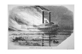 The 'sultana' Disaster, on the Mississippi, 1865 Giclee Print