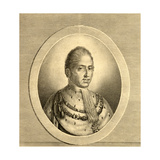 Portrait of Charles X (1757-1826) King of France and Navarre Giclee Print