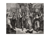Invasion of the Assembly, 20th June 1792 Giclee Print by H. de la Charlerie