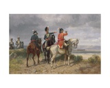 A Reconnaissance Party Giclee Print by Richard Beavis