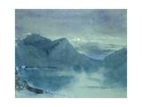 Lake Lugano Giclee Print by John Ruskin