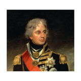 Horatio, Viscount Nelson (1758-1805) 1801 (Detail) Giclee Print by Sir William Beechey