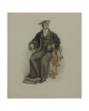 Proctor, Engraved by J. Agar, Published in R. Ackermann's 'History of Oxford', 1814 Giclee Print by Thomas Uwins