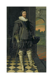 The Marquis of Hamilton (1589-1625) Giclee Print by Daniel Mytens