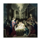The Nativity, Engraved by G.S. and S.G. Facius, 1785 Giclee Print by Sir Joshua Reynolds