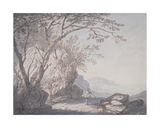 View Near Hastings, Sussex, 1705 Giclee Print by Joseph Farington