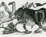 Don Chepito Torero, from 'Les Aventues De Don Chepito' Photographic Print by Jose Guadalupe Posada
