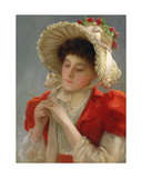 The Engagement Ring, 1898 Giclee Print by John Shirley Fox