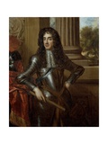 Portrait of King Charles II (1630-85) after Sir Peter Lely (1618-80) Giclee Print by Mary Beale