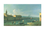 View of San Michele in Isola, Venice Giclee Print by  Canaletto