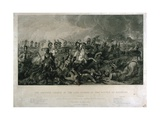 The Decisive Charge of the Life Guards at Waterloo in 1815, Engraved by William Bromley, 1821 Giclee Print by Luke Clennell