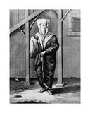 A Jewish Woman, from 'Raccolta Di 126 Stampe Che Representano Figure Ed Abiti Di Varie Nazione… Giclée-Druck von Teodoro Viero