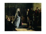 Execution of Mary (1542-87) Queen of Scots, 1867 Giclee Print by Robert Herdman