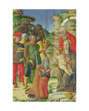 Adoration of the Magi, C.1465 Giclee Print by  Girolamo da Cremona