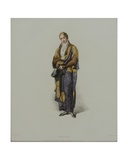 Nobleman, Engraved by J. Agar, Published in 1813 for R. Ackermann's 'History of Oxford Giclee Print by Thomas Uwins